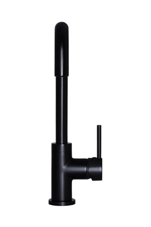 Meir Round Traditional Kitchen Mixer - Black