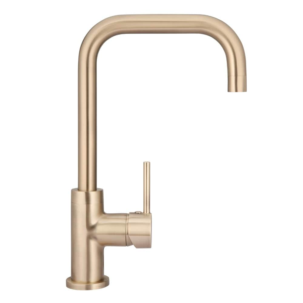 Meir Round Traditional Kitchen Mixer - Champagne