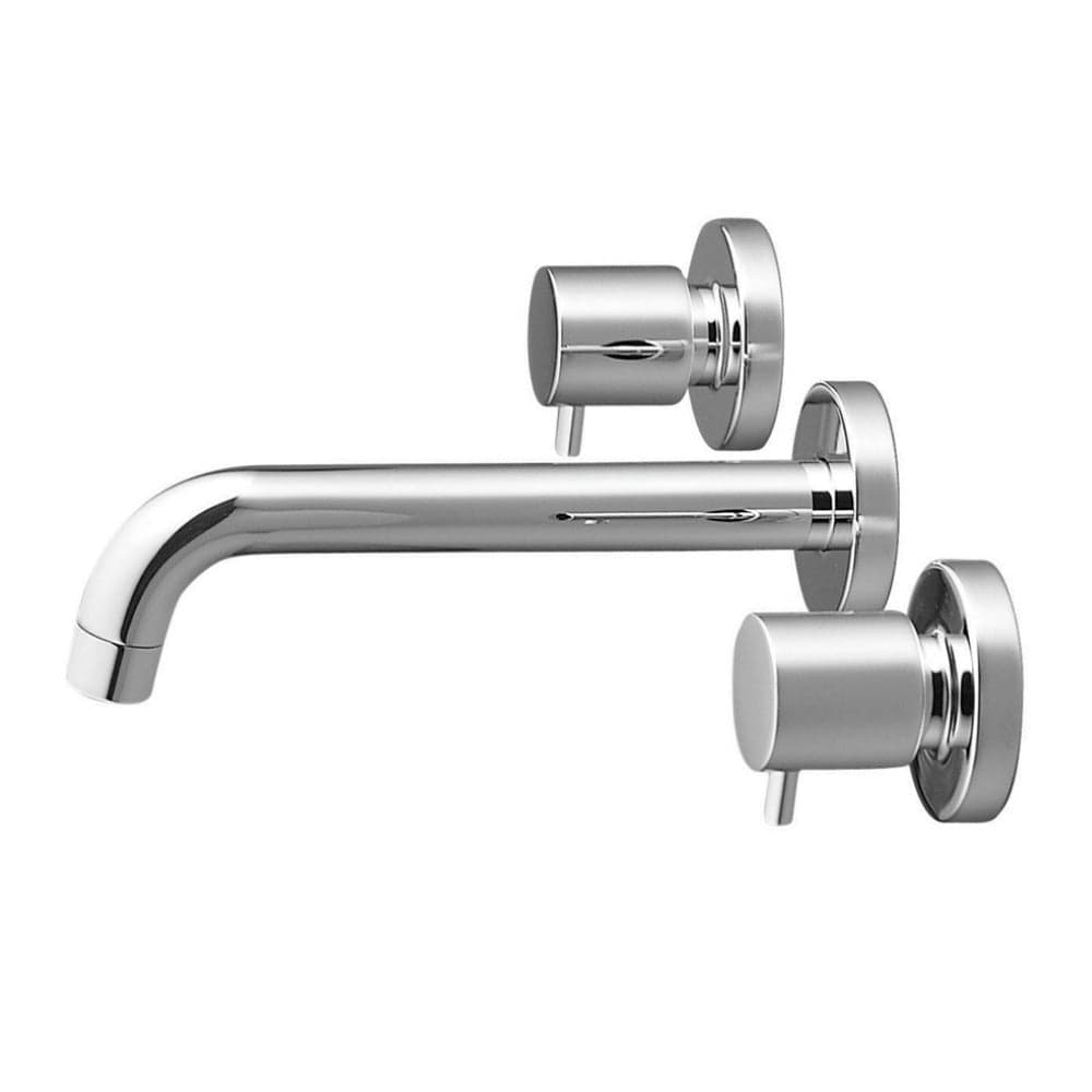 Methven Minimalist 3 Hole Wall Mounted Faucet - Chrome