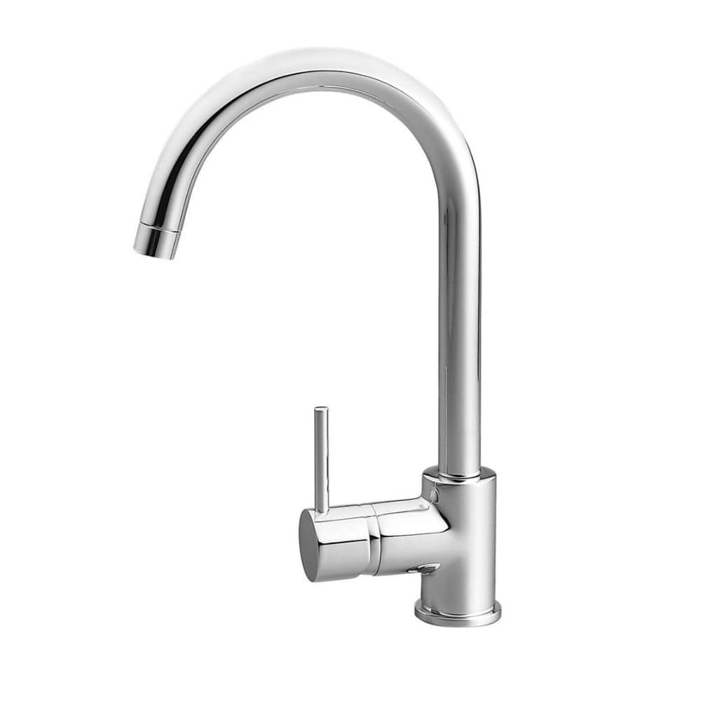 Methven Minimalist Goose Neck Sink Mixer - Chrome