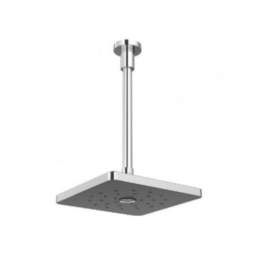 Methven Satinjet Square Overhead Drencher Ceiling Mounted - Chrome