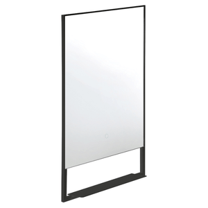 Frame 500 Rectangle LED Mirror with Shelf