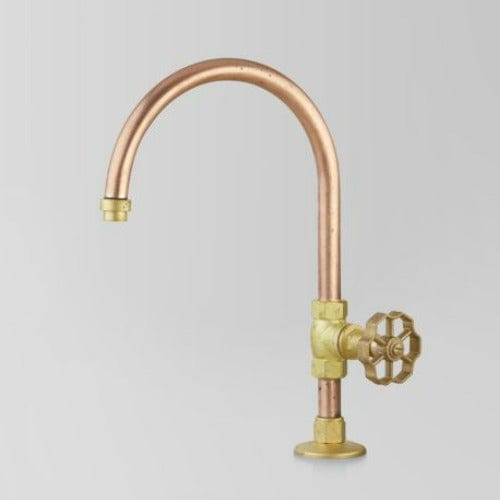 Astra Walker Eden Pillar Tap | Brass Handle