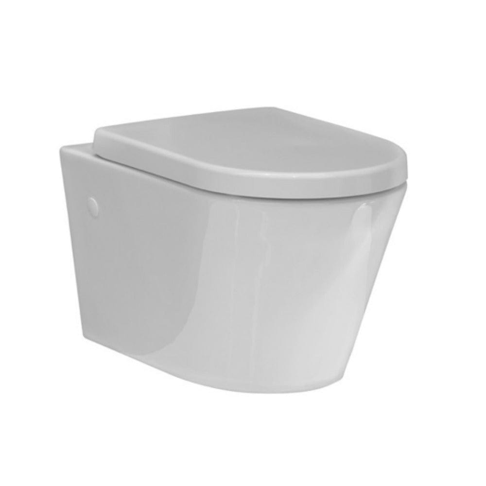 Evo Wall Hung Toilet with Standard Seat