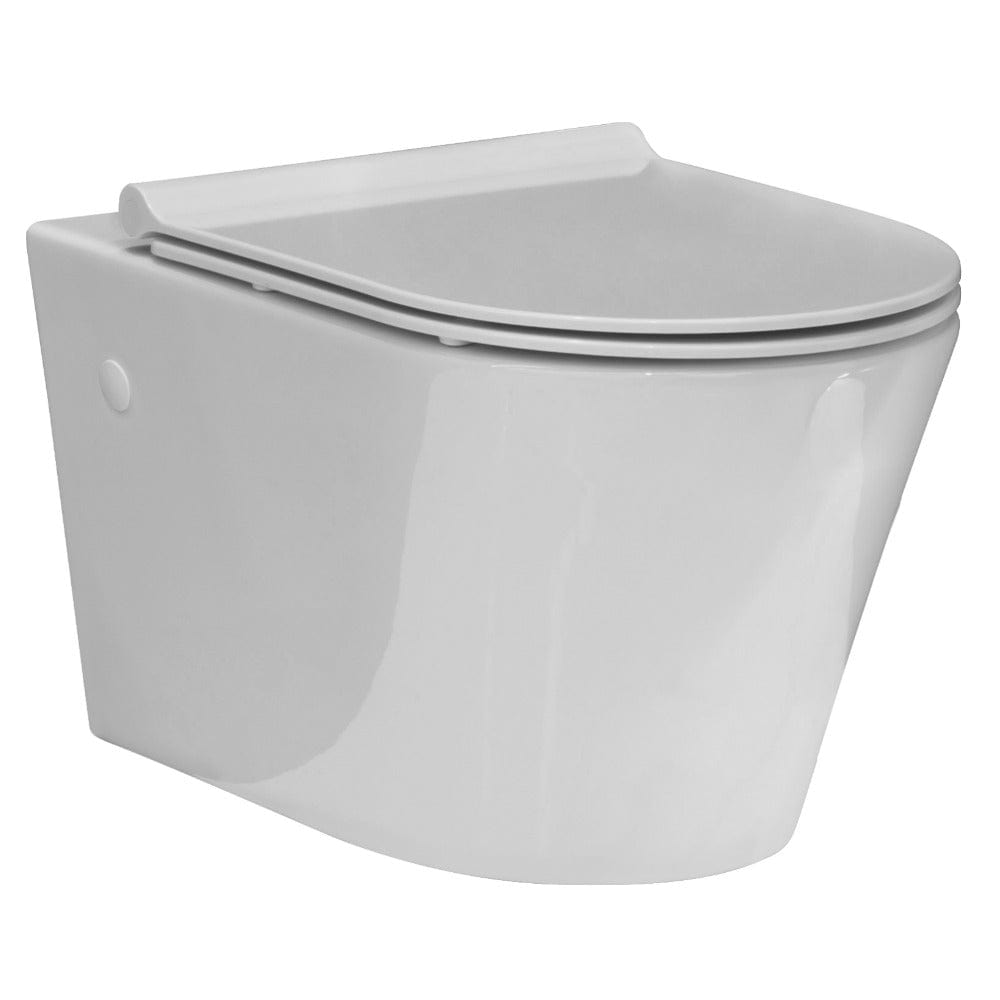 Evo Wall Hung Toilet Slim Seat