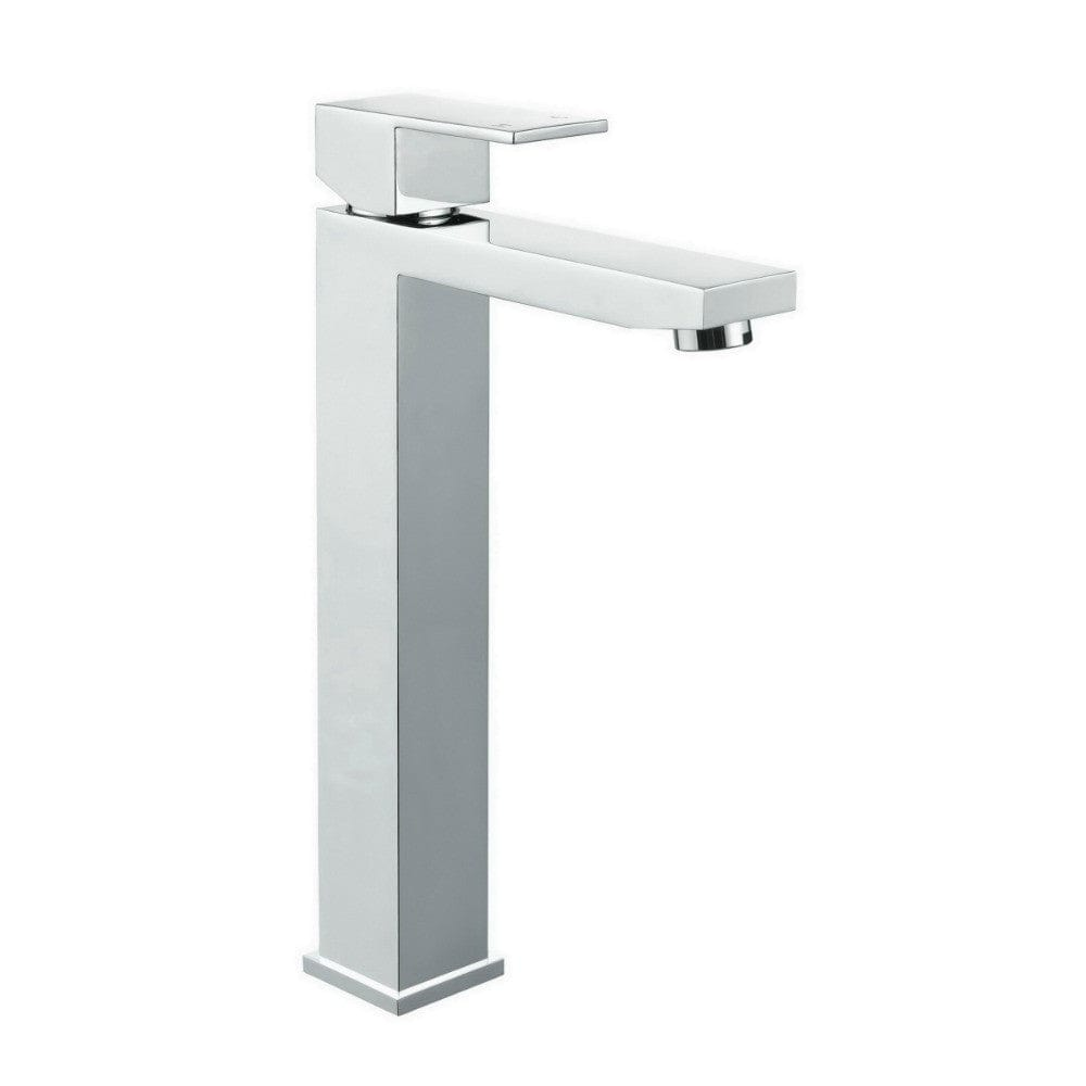 Meir Square Tall Basin Mixer - Chrome