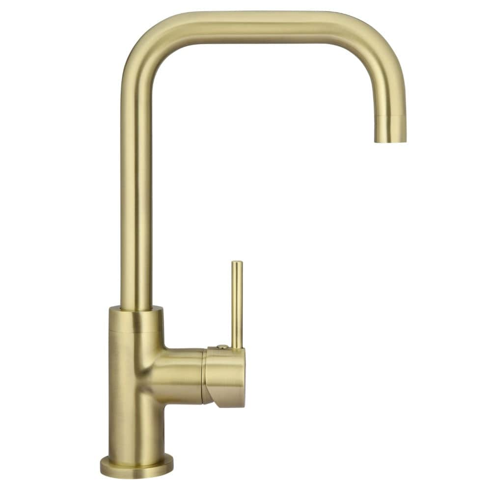 Meir Round Traditional Kitchen Mixer - Tiger Bronze