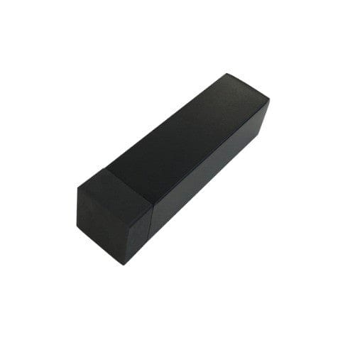 Black door stop - square