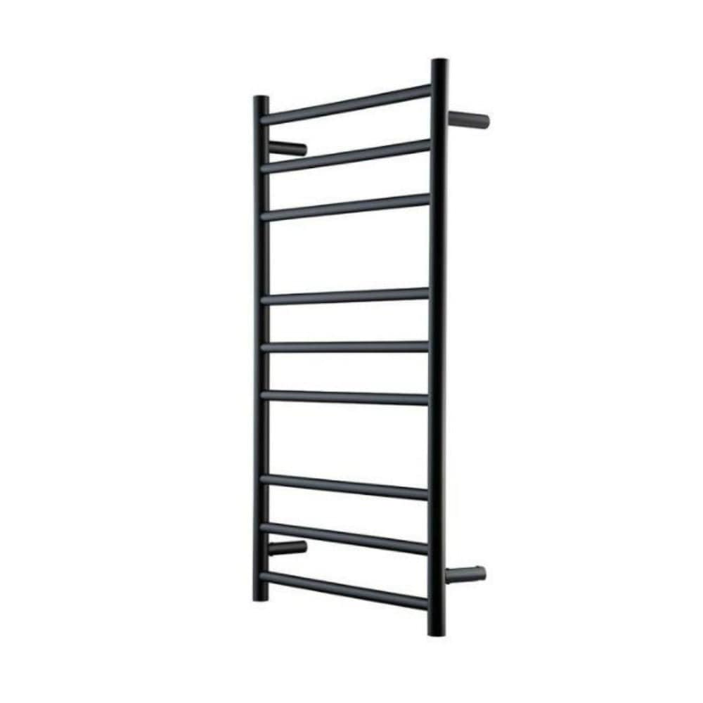 Heirloom Genesis 1025 Extended Heated Towel Ladder - Black