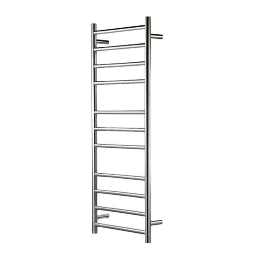Heirloom Genesis 1220 Slimline Heated Towel Ladder - Polished Stainless Steel