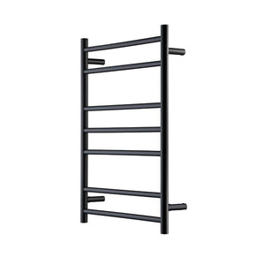 Heirloom Genesis Nero Heated Towel Rail - Black - 825 x 600mm