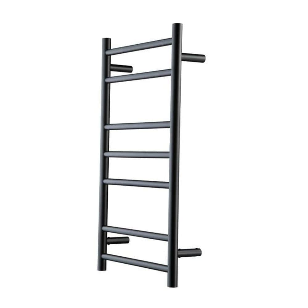 Heirloom Genesis 825 Slimline Heated Towel Ladder - Black