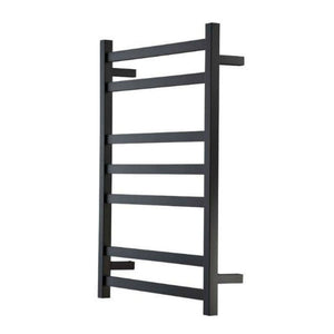 Heirloom Studio 1 825 Heated Towel Ladder - Black