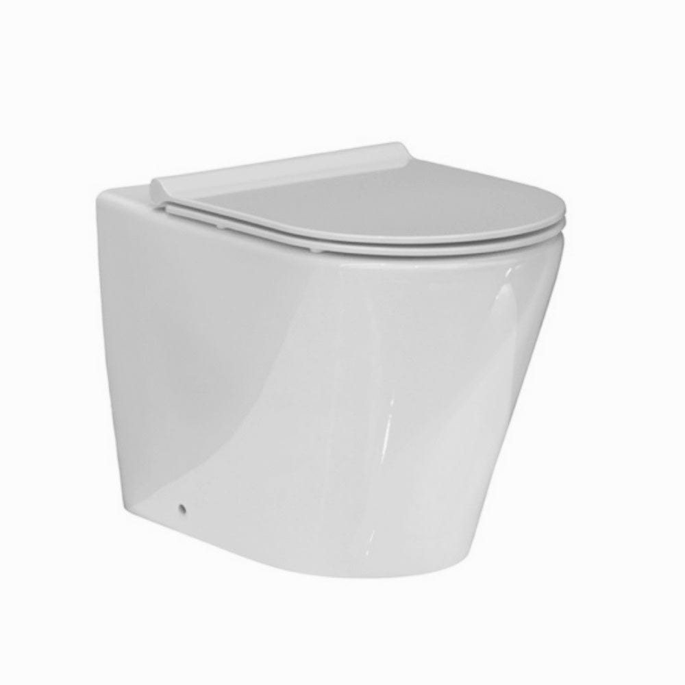 Evo Floor Mount Toilet - Slim Seat