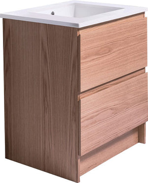 Bath & Co 750mm Laundry Cabinet – 2 Drawers, Timber Veneer