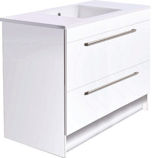 Bath & Co 900mm Laundry Cabinet – 2 Drawers, White