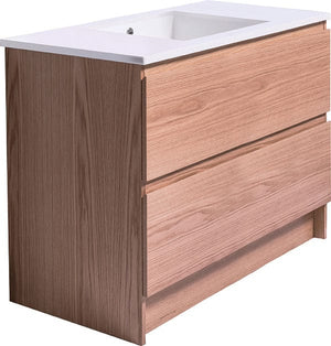Bath & Co 900mm Laundry Cabinet – 2 Drawers, Timber Veneer