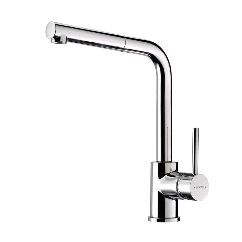 Methven Minimalist Metro Pull Out Sink Mixer - Chrome