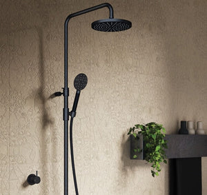 Buddy Round Shower Column