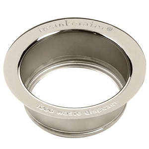 Insinkerator Sink Flange - Polished Stainless Steel