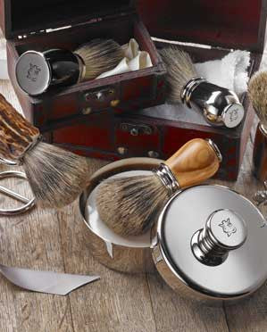 Shave Brushes and Bowls