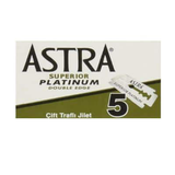 Green Box of Astra Double Edge Safety Razor with 5 blades