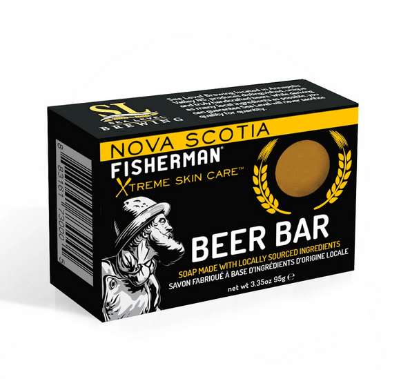 Nova Scotia Fisherman Soap Bar - Beer & Spearmint