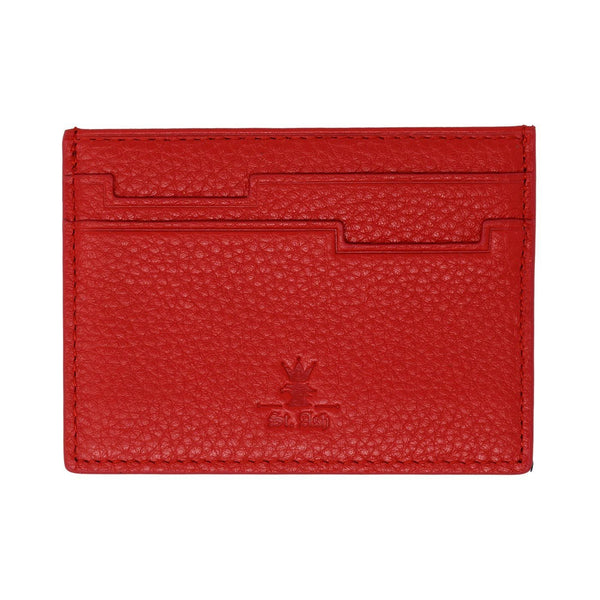 St. Ash Card Holder - Red Color Available at King´s Crown, Toronto, Canada.