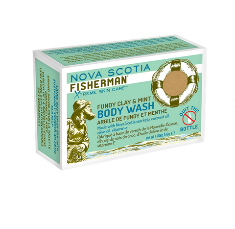 Nova Scotia Fisherman Soap Bar - Fundy Clay & Mint