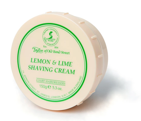 Taylor Of Old Bond Street - Lemon & Lime Shaving Cream 150g