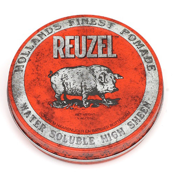 Red Reuzel High Shine Pomade 4oz, sold at King's Crown in Toronto, Canada.