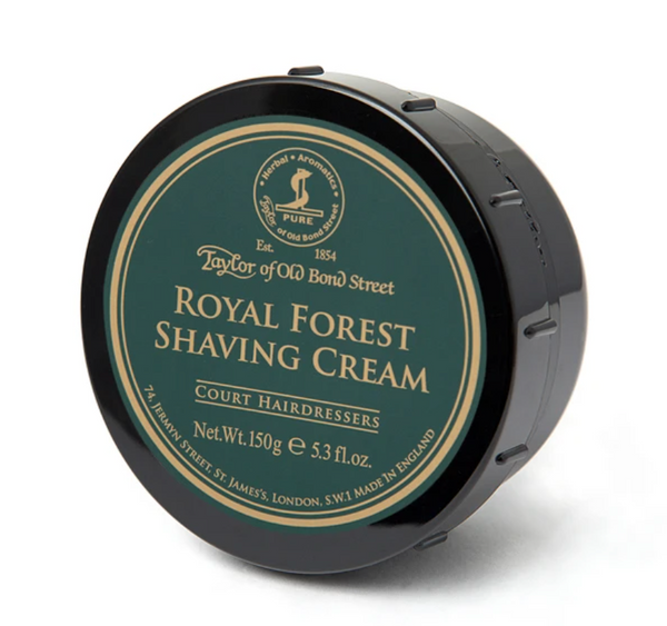 Taylor Of Old Bond Street - Royal Forest Shaving Cream 150g