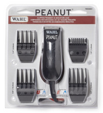 Whal Peanut Trimmer black with guards in package