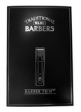 Wahl Cordless Barber Trim clippers in a black box