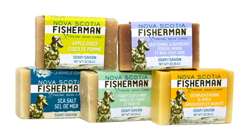 Nova Scotia Fisherman Travel Soap Bar - 5 Pack