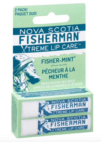 "Nova Scotia Fisherman - Two Pack Lip Balm ""Fisher-Mint"""