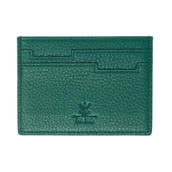 St. Ash Card Holder - Green Color Available at King´s Crown, Toronto, Canada.