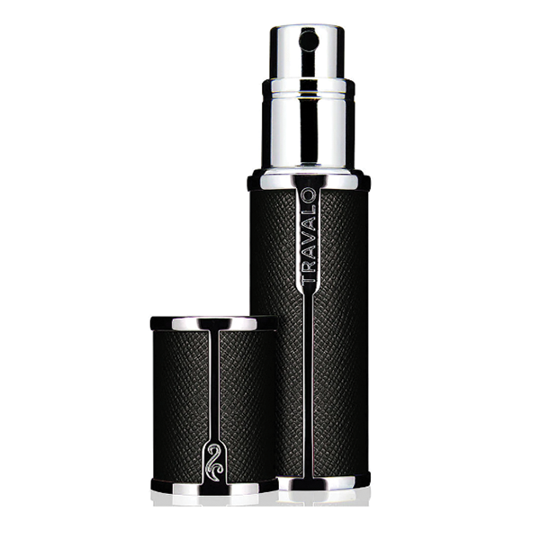 Travalo Milano - Luxurious Portable Refillable Fragrance Atomizer in Black Colour