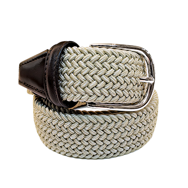 Anderson´s Belt – Tan Woven made in Italy. Available at King´s Crown, Toronto.