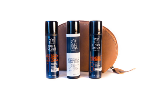Luxury Leather Trio Set