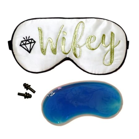 Wifey Cooling Silk Sleeping Mask