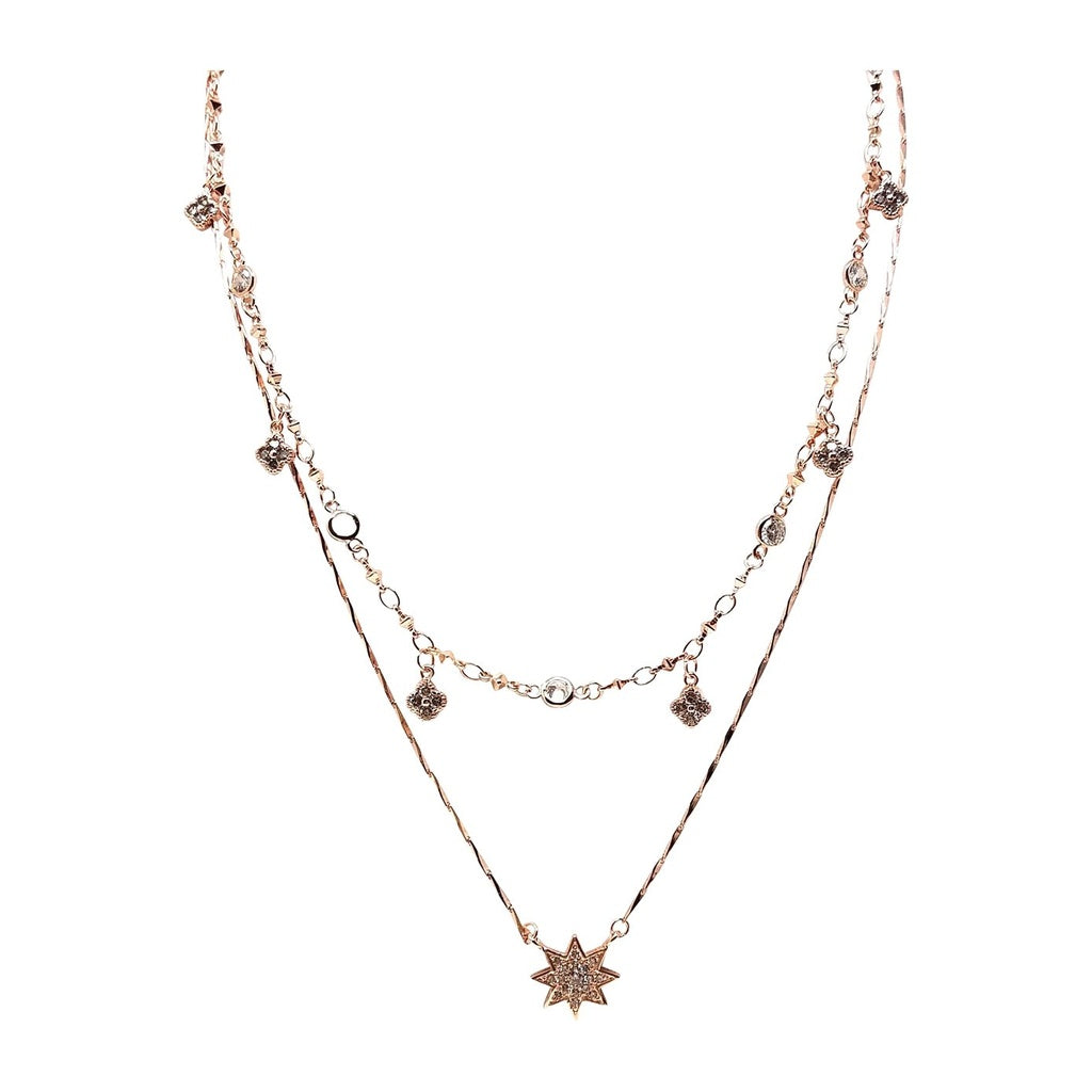 Star Style Layered Necklace