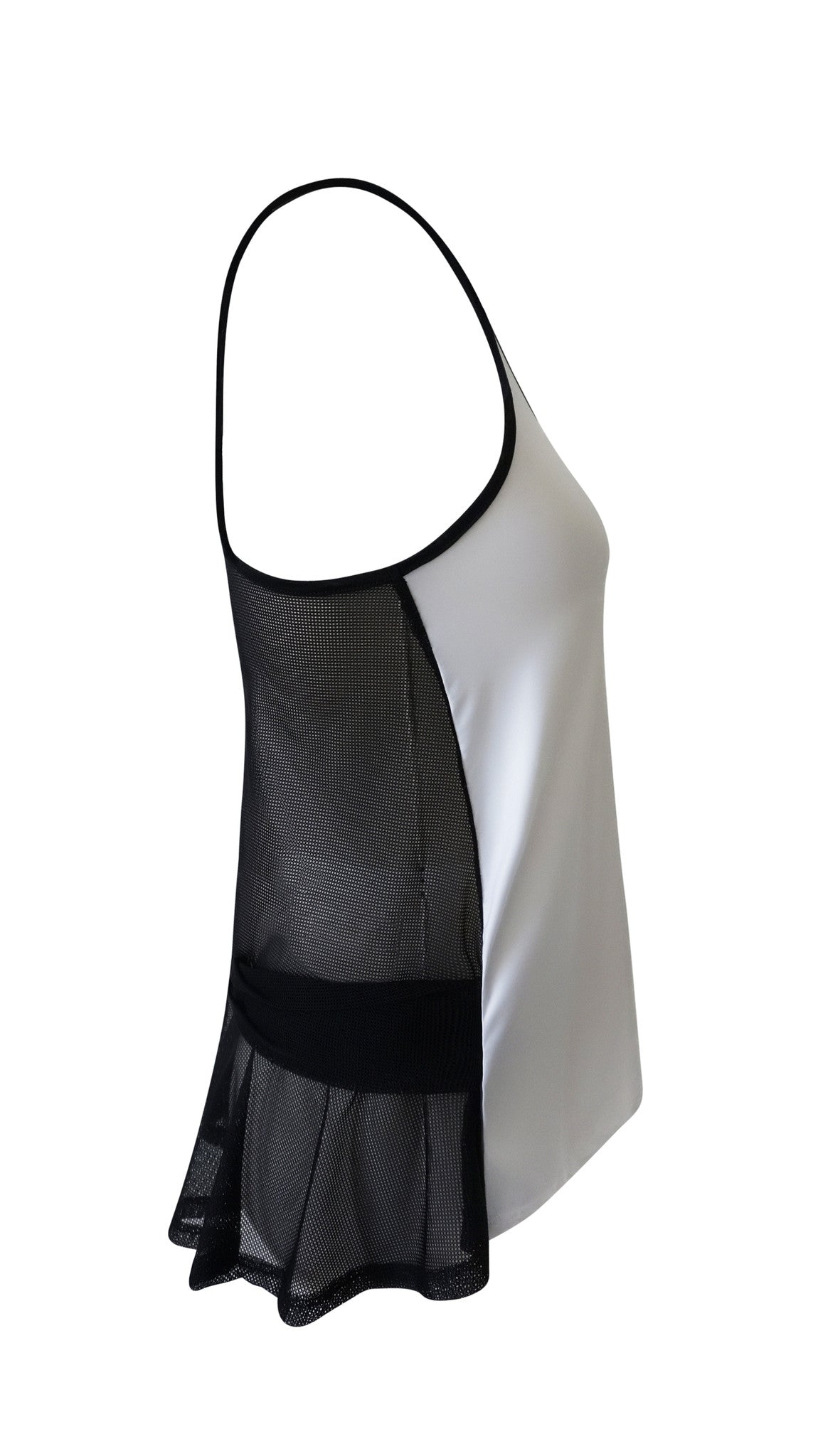 White Racerback Yoga Top