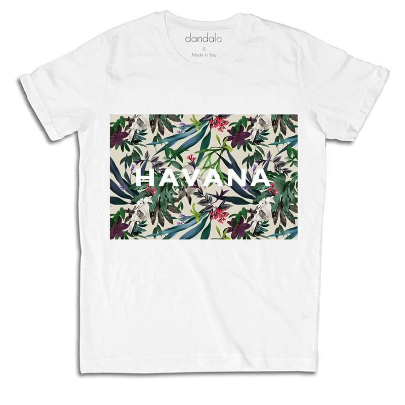"Women's White T-Shirt ""Havana"""