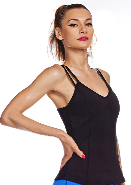 black workout top sale women