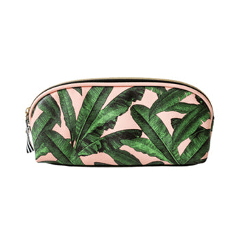 Printed Leaf Pencil Case