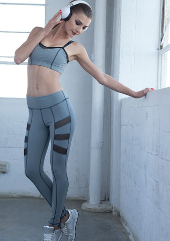 grey workout leggings