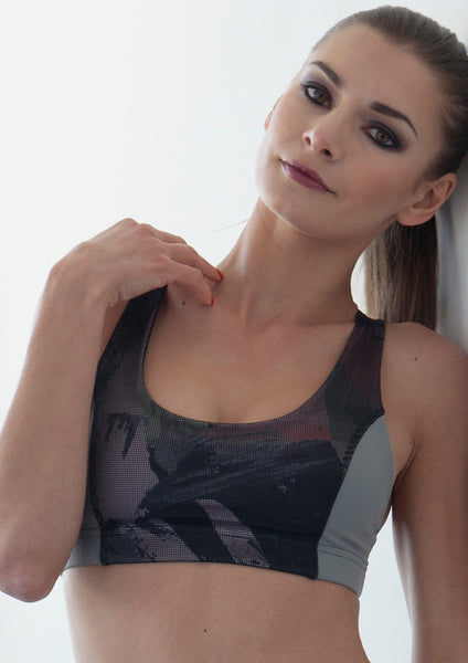 high impact sports bra nina b roze