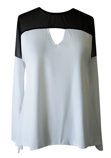 white tunic top women