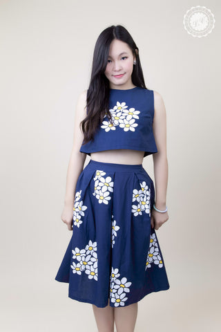 Cropped Daisy Dress Set